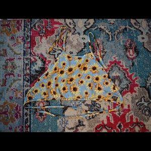 Jac Vanek Sunflower Halter Size L